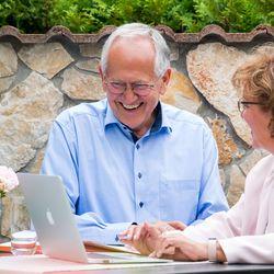 Der Zahnarzt Berater Klaus Schmitt im Gespräch