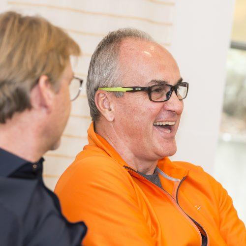 Gute Stimmung bei den Teilnehmern im Zahnarzt-Unternehmer-Workshop
