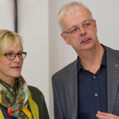 Dr. Helmut Uerlich und Ahlke Cornelius-Uerlich im Zahnarzt-Unternehmer-Workshop